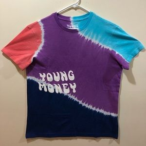 American Eagle x Young Money Tie Dye Shirt, Small